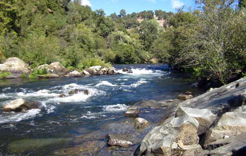 Mokelumne River white water near Jackson