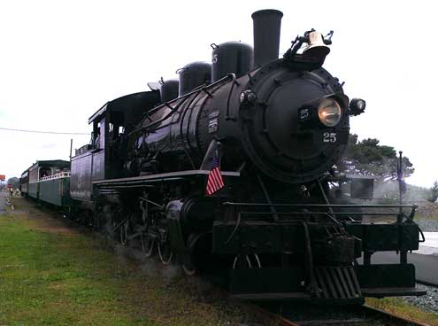 Oregon Coast Steam Train