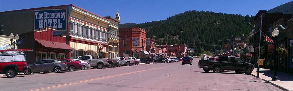 Downtown Philipsburg, Montana