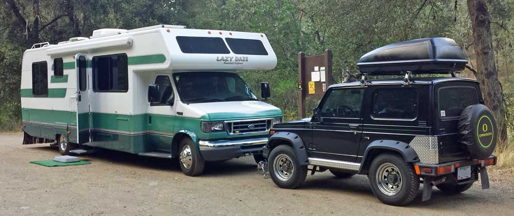 RV Travel, Lots of Boondock Camping