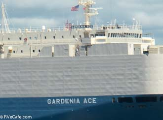 Gardenia Ace, vehicle transport
