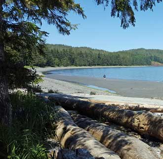 Storrey Beach at Port Hardy