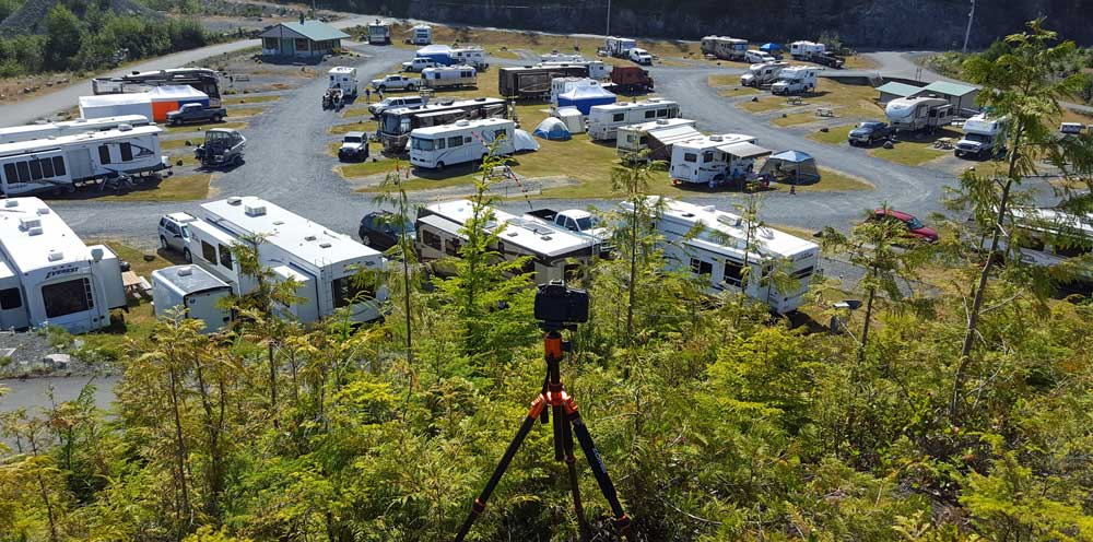 Time Lapse of Telegraph Cove RV Park