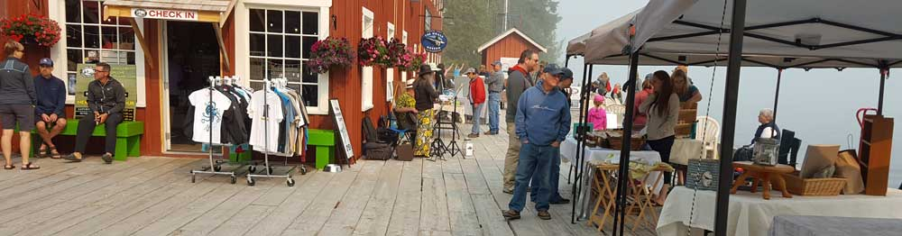 Craft Fair at Telegraph Cove