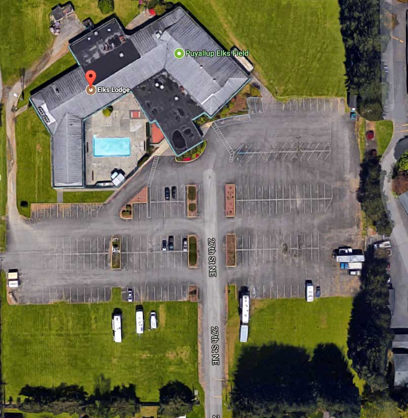 Puyallup Elks Club RV parking