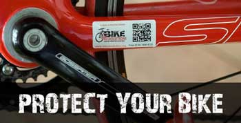 Help protect your bike and recover stolen bikes