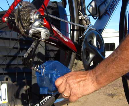 Park Tools bicycle chain cleaner