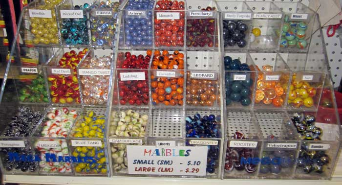 I've not seen marbles for sale since I was a kid