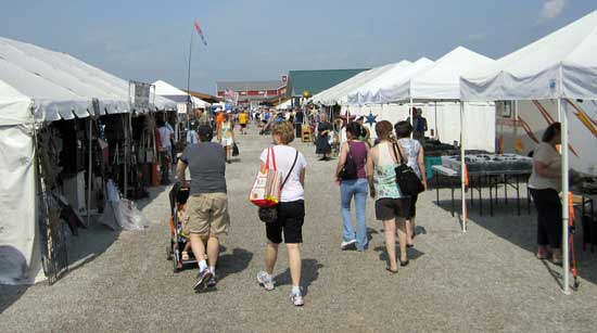 Visiting the Shipshewana Flea Market