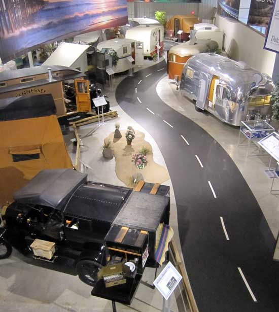 The RV/MH Hall of Fame Museum