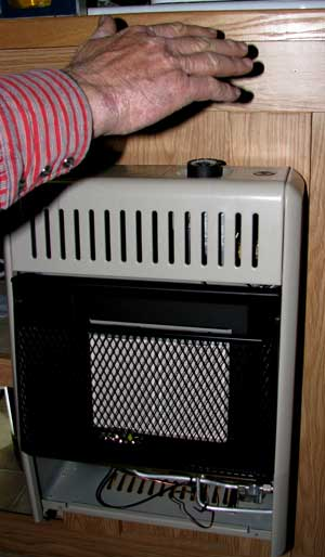 Install A Propane Radiant Heater In An Rv