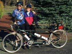 Our Santana Tandem Bicycle