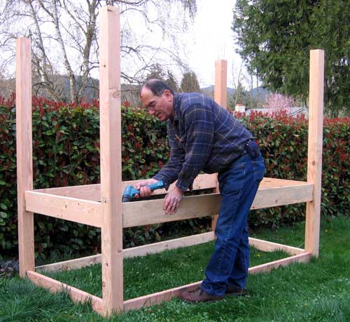 build a cedar deck for your rv