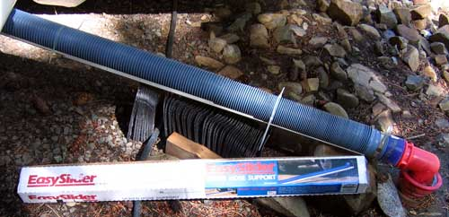 Supporting The RV Sewer Hose