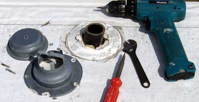 Holding Tank Vent Cover Replacement