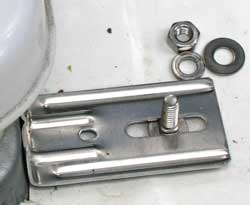 Carriage bolt is used to install the cover.